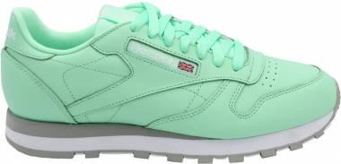 867e7f23bdefb Reebok Classic Leather Digi-digital Green White Men