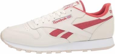 Reebok Classic Leather - Chalk/Mars Red/Stucco (LAG19)