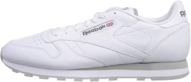 Reebok Classic Leather - Int-White / Lt. Grey