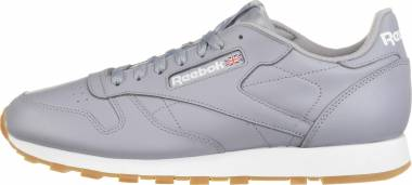 sports shoes 1acdd 34789 Reebok Classic Leather Gum Grey Gum Men