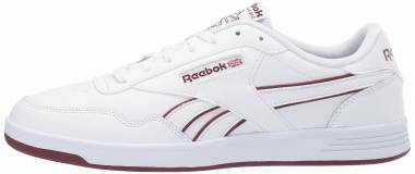Reebok Club MEMT - White Lux Maroon White