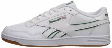 Reebok Club MEMT - White/Clover Green/White