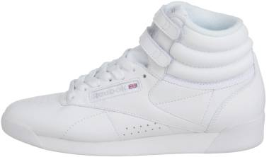 Reebok Freestyle Hi - white / silver