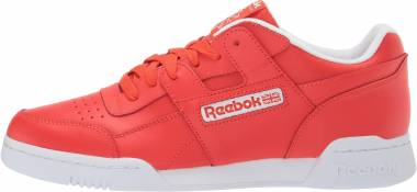 big sale 6e1f3 c67d0 Reebok Workout Plus Canton Red White Men