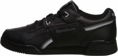Reebok Workout Plus - Black Cold Grey Cool Shadow