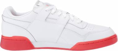 Reebok Workout Plus - White Carbon Red