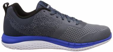 Reebok Print Run Prime Ultraknit - Grey (Asteroid Dust/Smoky Indigo/White/Black/Vital Blue)