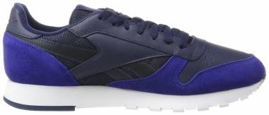Reebok Classic Leather MO - Azul Collegiate Navy Deep Cobalt White Skull