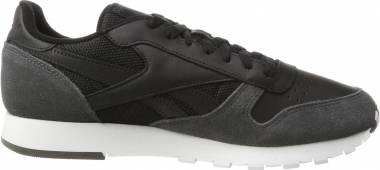 Reebok Classic Leather MO - Black (Black/Coal/White/Skull Grey/Risk Blue)