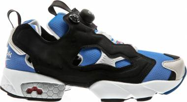 Reebok InstaPump Fury OG - Echo Blue/Black/Steel/Matte Silver/White/Red (M48756)