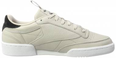 Reebok Club C 85 IT - Beige Sand Stone Black White (BS8255)