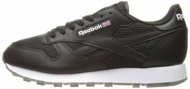 huge discount 2f302 3416f Reebok Classic Leather NM Black White Coal-gum Men