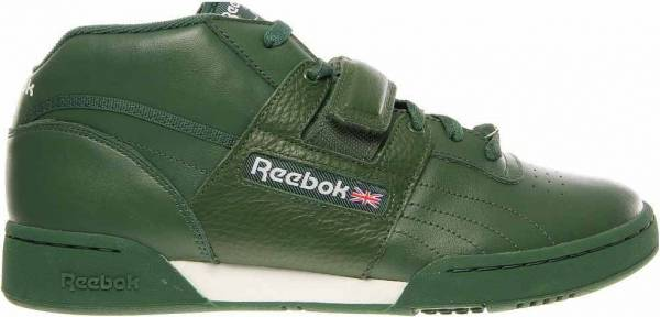 Reebok Workout Mid Strap Green