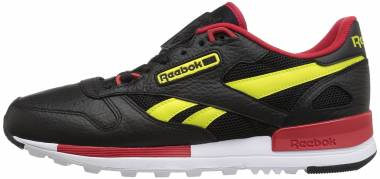 Reebok Classic Leather 2.0 - Black Hypergreen Scarlet White