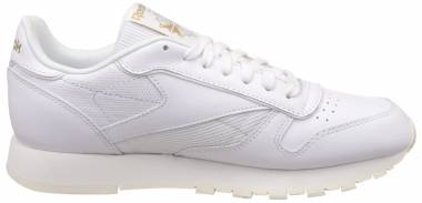 Reebok Classic Leather ALR - White White Chalk Snowy Grey Rbk Brass