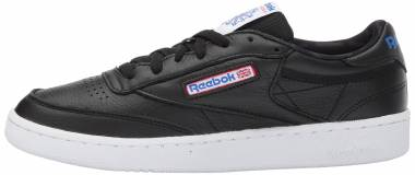 Reebok Club C 85 SO - Black Black White Vital Blue Primal Red Ash G (BS5213)