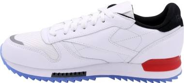Reebok Classic Leather Ripple Low BP - White / Black-primal Red