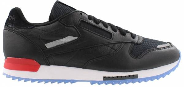 Reebok Classic Leather Ripple Low BP - Black / White-red-dust Ice