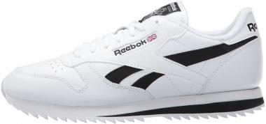 Reebok Classic Leather Ripple Low BP - Weiß Schwarz