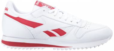 Reebok Classic Leather Ripple Low BP - Bianco White Excellent Red (BS8299)
