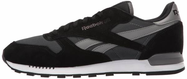 Reebok Classic Leather Clip ELE Negro (Gravel/Black/Medium Grey)
