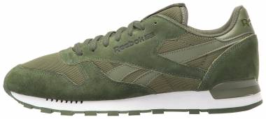 Reebok Classic Leather Clip ELE Moss Green/Primal Green/C Men