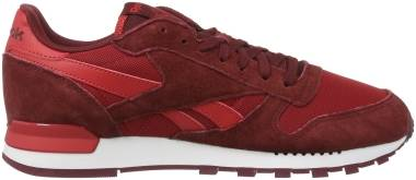Reebok Classic Leather Clip ELE - Red Flash Red Merlot Terracota
