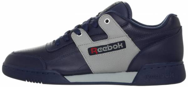 Reebok Workout Plus R12 - Athletic Navy Flat Grey Excellent Red