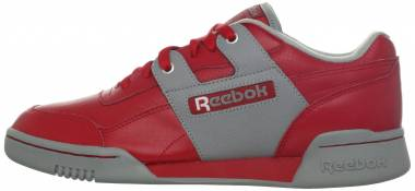 Reebok Workout Plus R12 - Excellent Red/Flat Grey/White
