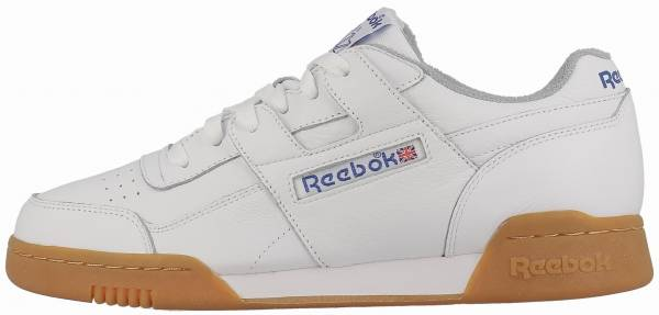 Reebok Workout Plus R12 - White Reebok Royal Flat Grey