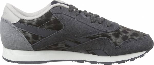 Reebok Classic Nylon Wild Shark/Soft Black/Steel/White