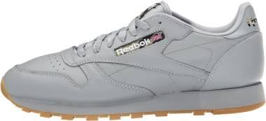 Reebok Classic Leather TC - Flat Grey/Black/Warm Olive/Oatmeal/Gum
