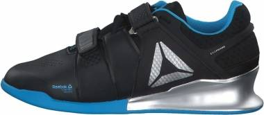 Reebok Legacy Lifter - BLACK/BRIGHT CYAN/MA