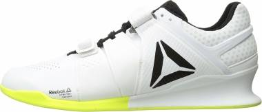 Reebok Legacy Lifter - White/Black/Solar Yellow (CN4514)