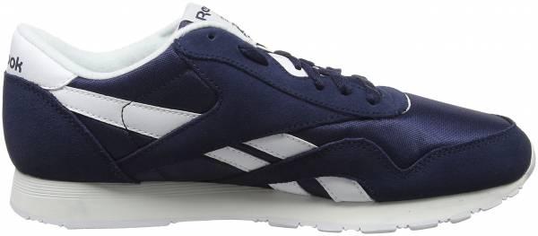 aad81982c2a Reebok Classic Nylon R13 Shoe - BLACK WHITE - Mens