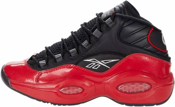 Reebok Question Mid - Black/Vector Red (G57551)