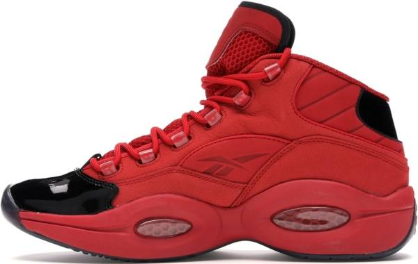 Reebok Question Mid  - Black/Scarlet/Gold Metallic