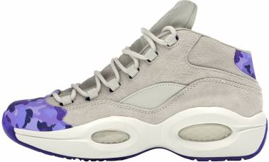 Reebok Question Mid  Chalk / Lush Orchid-purple Men