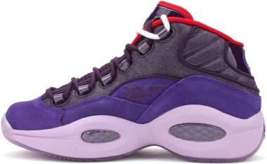 Reebok Question Mid - PURPLE/PURPLE/RED (V61429)