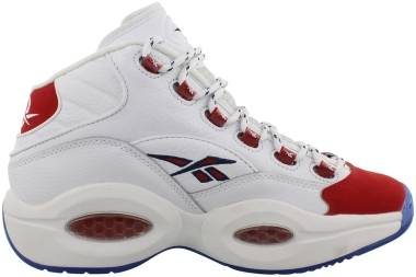 Reebok Question Mid - White/Pow Red (FY1018)