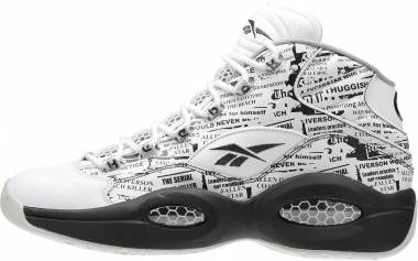 Reebok Question Mid  - White Coal Sandstone