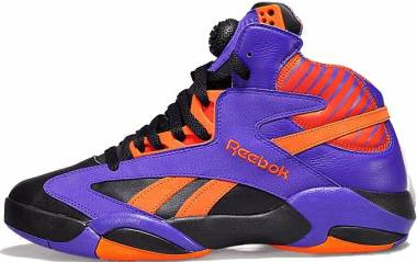 Reebok Shaq Attaq Black/Purple-Orange Men