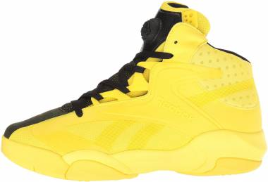 ad61787aa02b Reebok Shaq Attaq Modern Yellow Spark Black Men