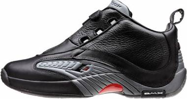 Reebok Answer IV - Black Rvt Grey Red