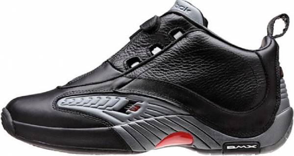 quality design b701c 597cb Reebok Answer IV Black   Rvt Grey   Red
