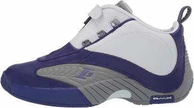 Reebok Answer IV Team Purple/Flat Grey/White Men