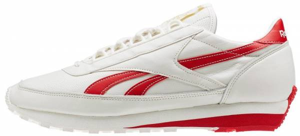 Reebok Aztec Leather Rouge-Blanc