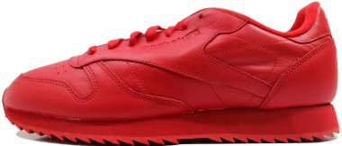 Reebok Classic CL Leather Ripple Mono Red Men