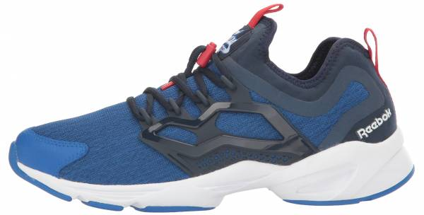 6cbb21948 Reebok Fury Adapt UC Awesome Blue Collegiate Navy White Primal Red. Any  color