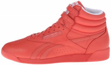 Reebok Freestyle Hi Spirit - Energy/White